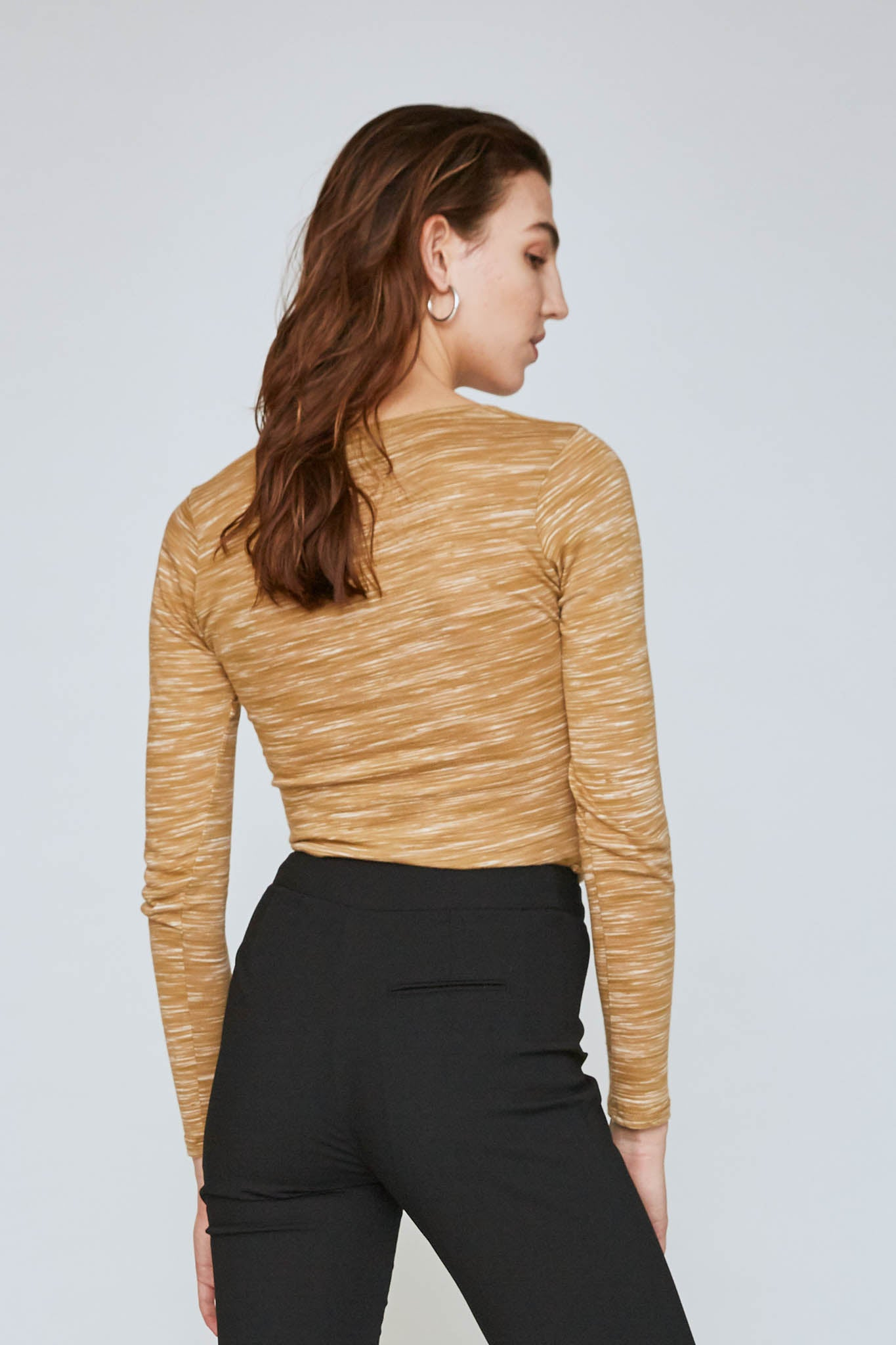 Mae Twisted-Seam Top