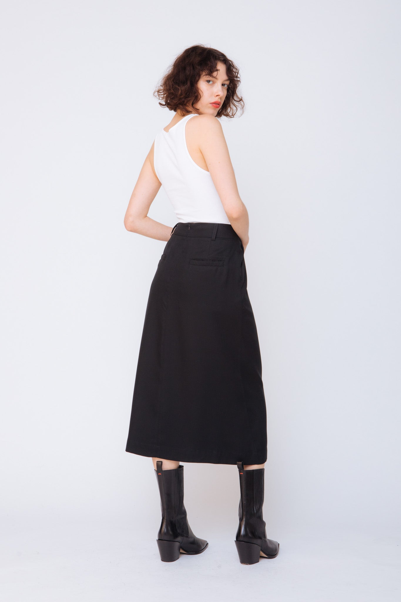 Bea Skirt with Pocket-Belt