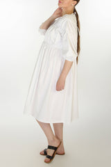 Cotton Tiered Dress