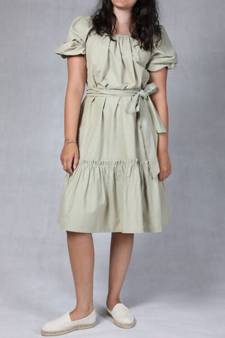 Taupe Summer Dress