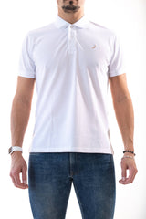 White Mendoo Polo Shirt