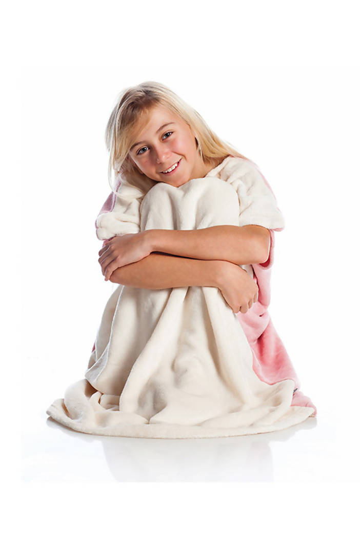 Pink Wearable Blanket