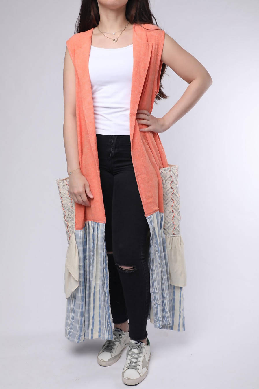 Vest (Orange) Women's size