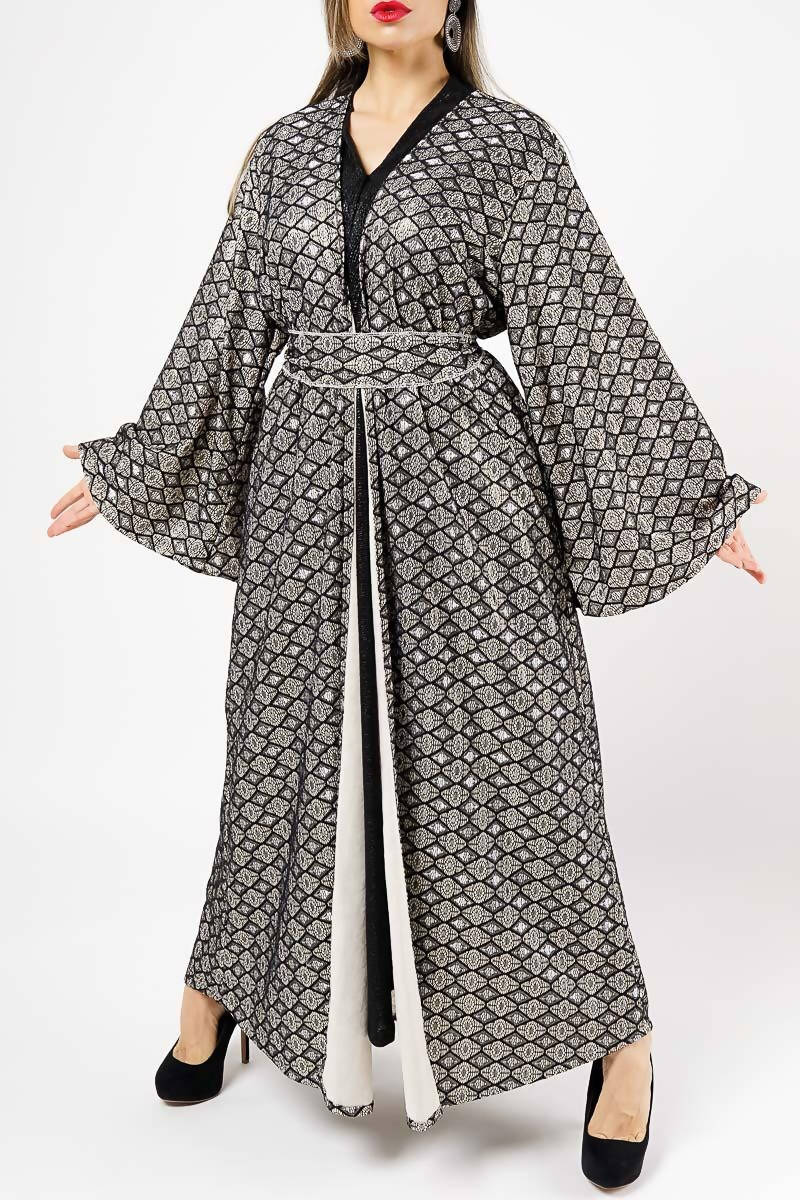 Bisht with Dress