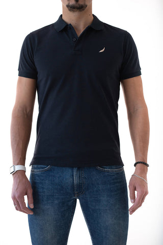 Navy Mendoo Polo Shirt