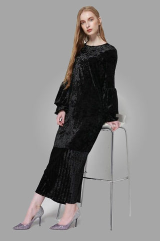RoZe - Black Velvet Dress