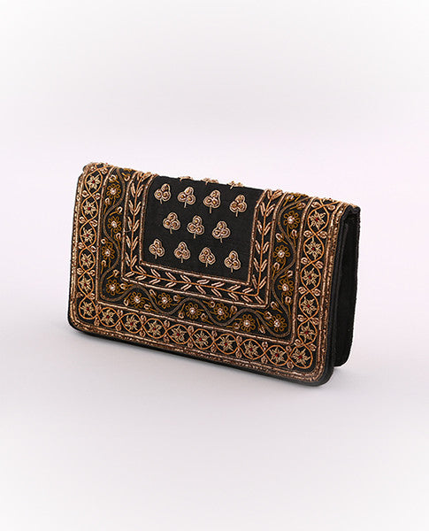 Black & Gold Clutch