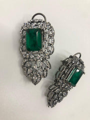 Antique Green Earrings
