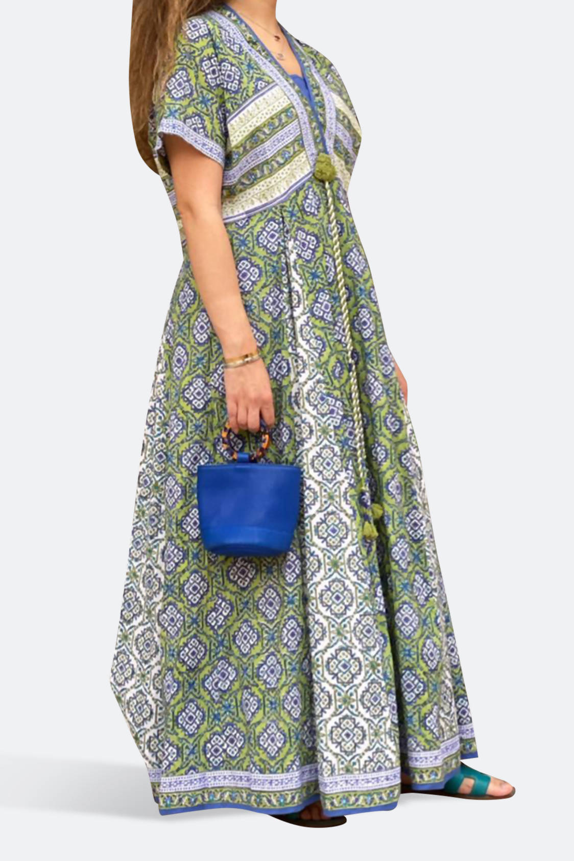 Indian Printed Kaftan