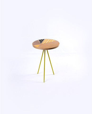 Cross-Stitch Yellow Table