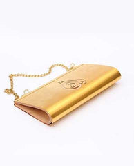Customized Lebanon Clutch Beige & Gold