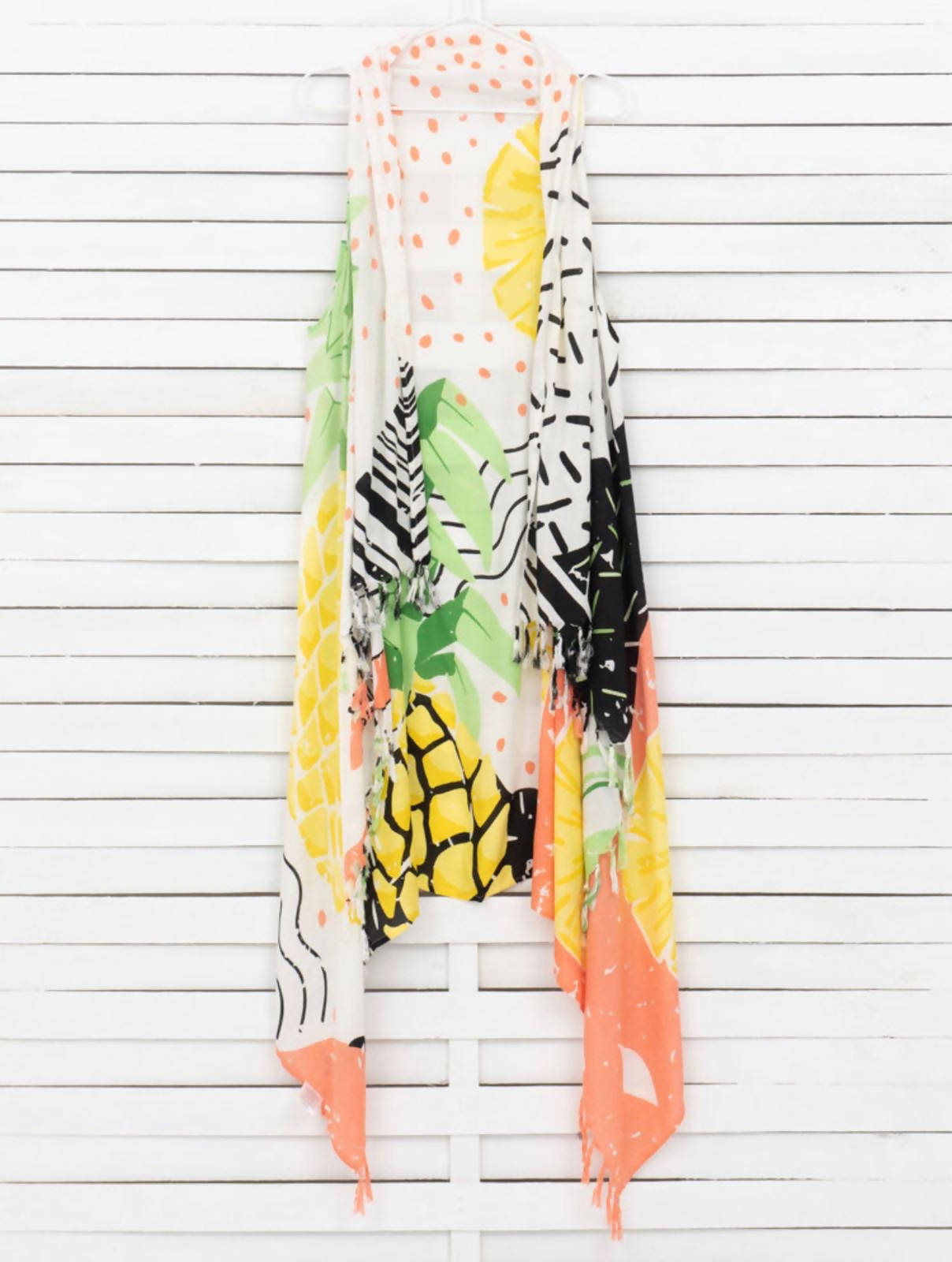 Pineapples Beach Vest