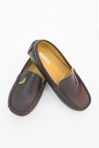 Mendoo Kids Shoes - Coffee