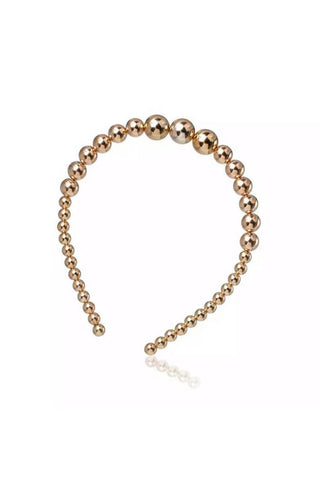 Gold Pearl Hair Band