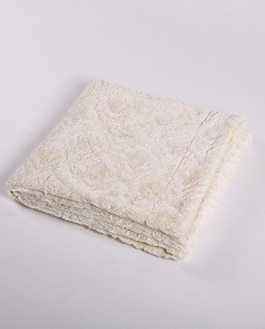 Ivory throw blanket