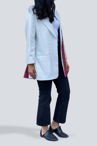 Three Print Blazer