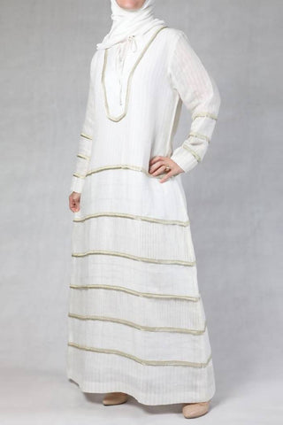 Gold Stripes Kaftan