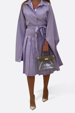 Lavender Cape Dress