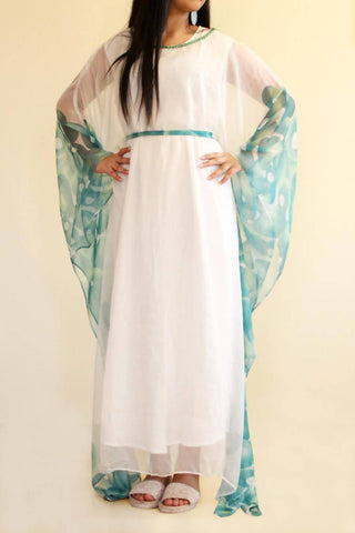 Green Butterfly Kaftan