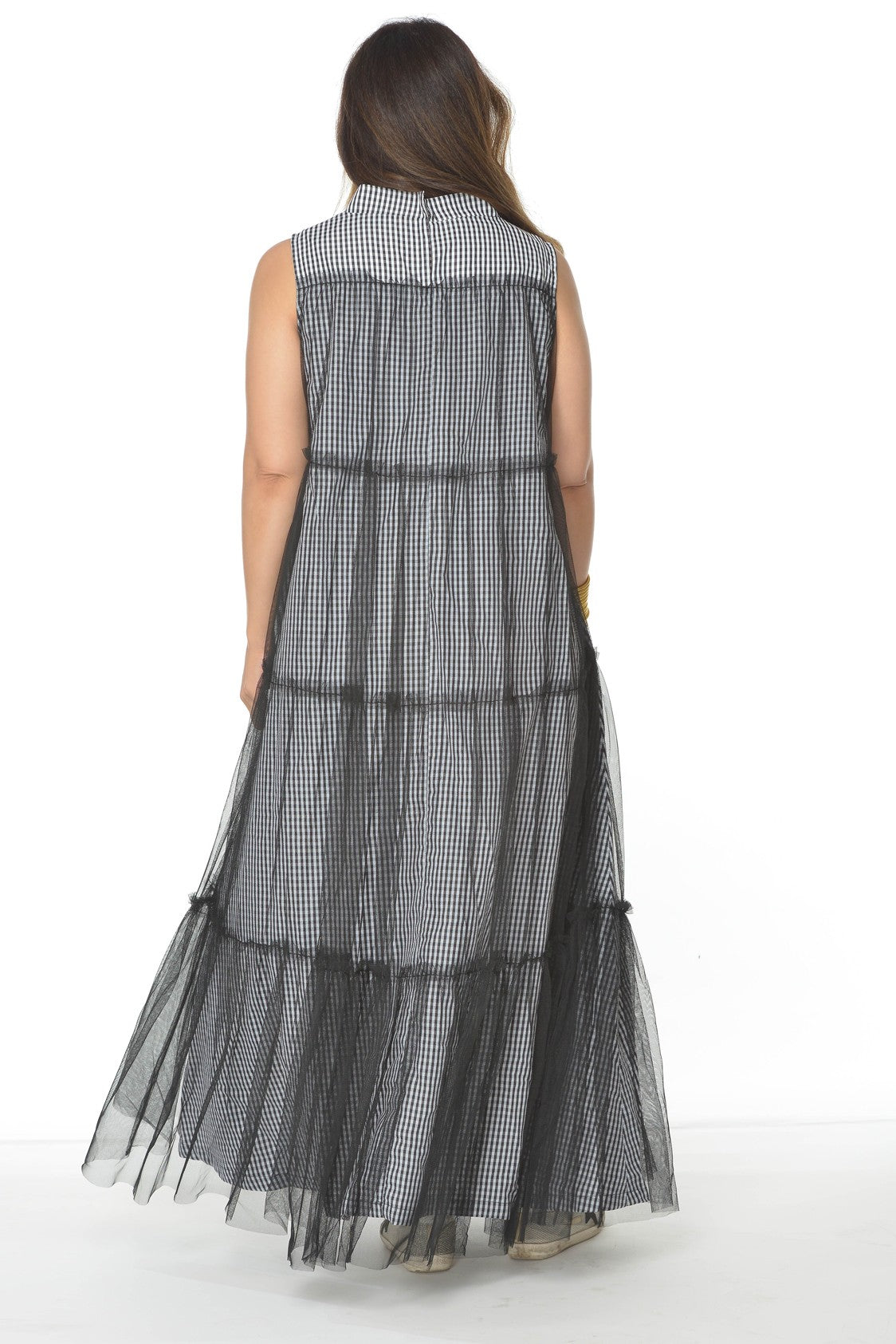 Tulle X Checkered