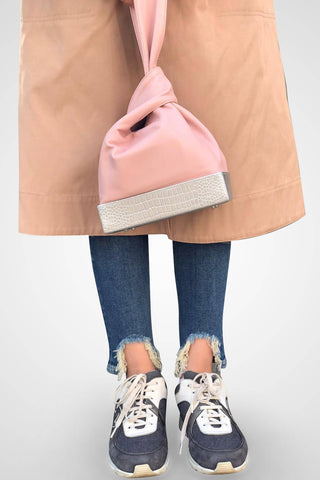 Baby Pink - Knot Bag