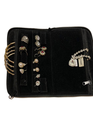 Small Travel Jewelry Case