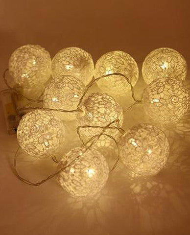 Lace Twinkle Lights