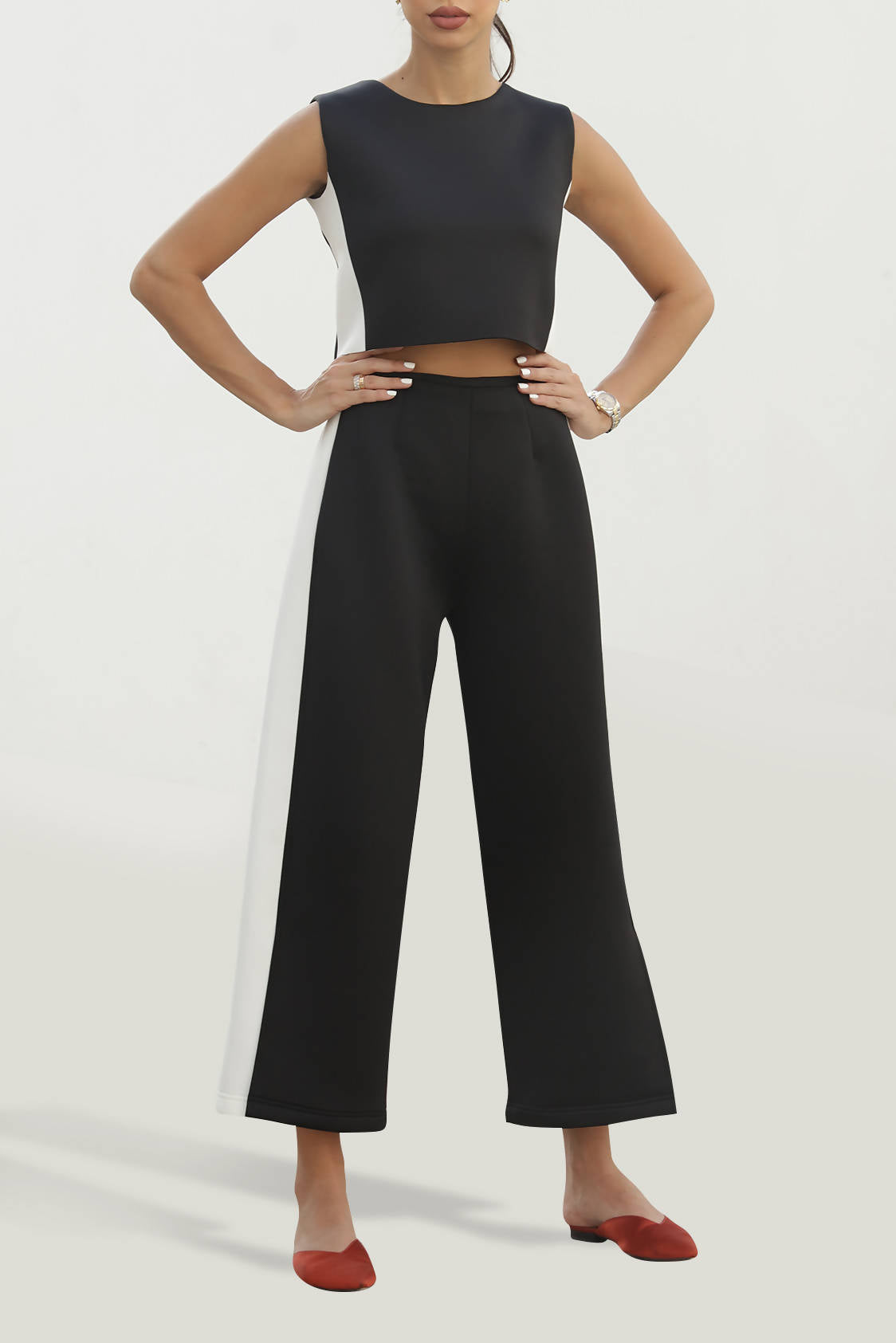 CropTop and Pants Set