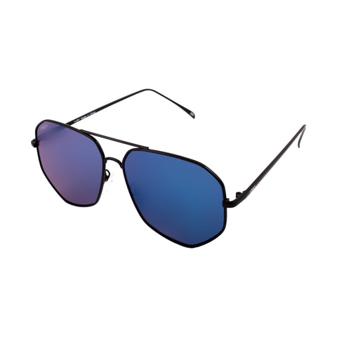 Fury – Matte Black/Blue Mirror Lenses