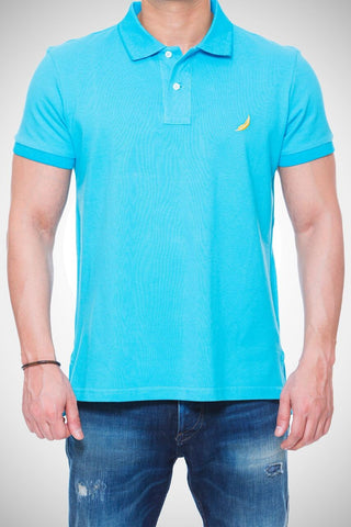 Deep Sky Blue Polo