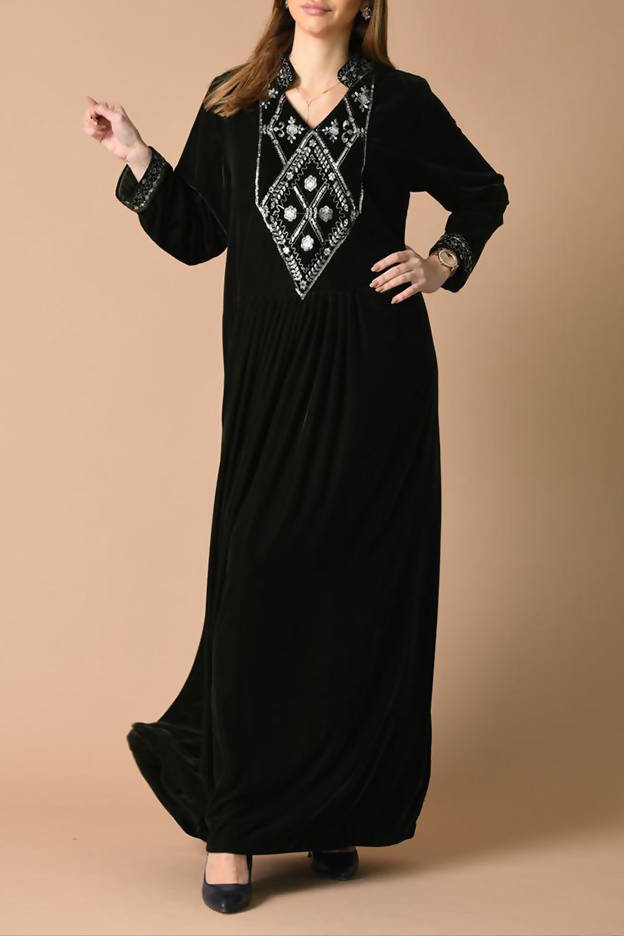 Dark Green Kaftan