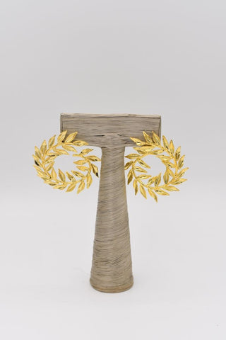 Grecian Leaf Earrings