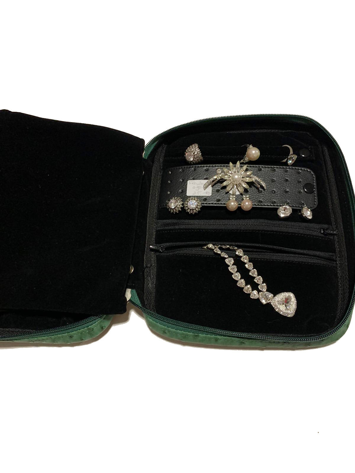 Large Travel Jewelry Case