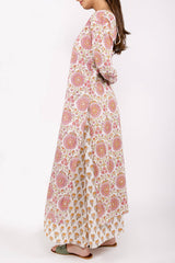 Double Layered Floral Dress