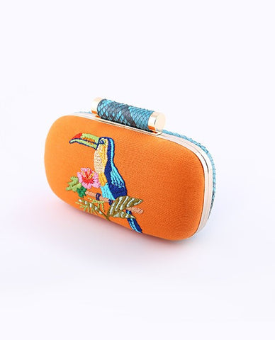 Toucan Box Clutch