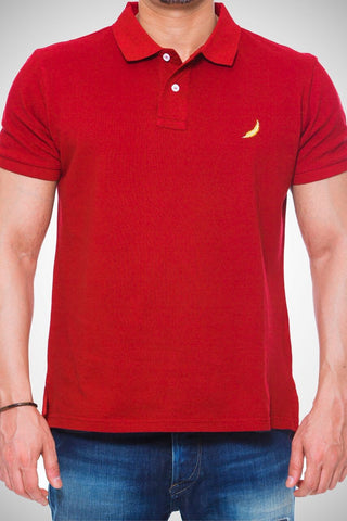 Maroon Red Polo