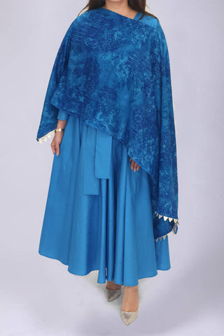 Electric Blue Kaftan