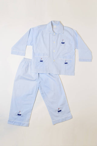 Light Blue Sailor Pajama