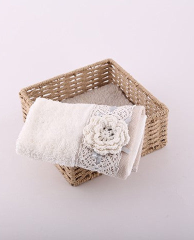 Hand towel basket
