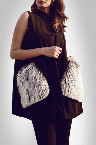 Faux Fur Pockets