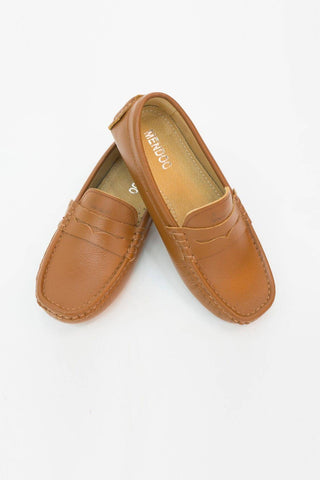 Mendoo Kids Shoes - Camel