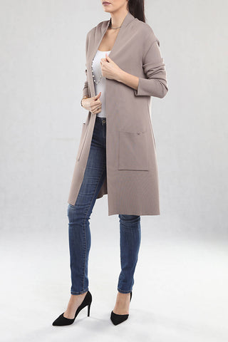 Mink Color Cardigan