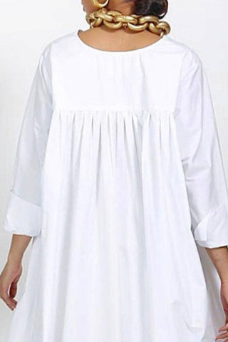 Flow White Kaftan