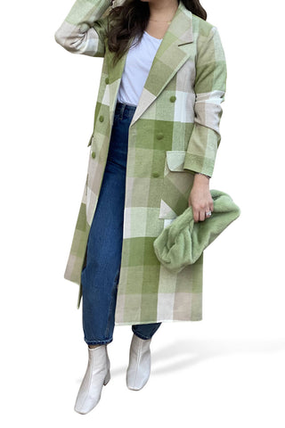 Green Checkered Jacket
