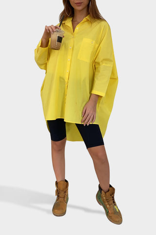 Yellow Oversized Shirt