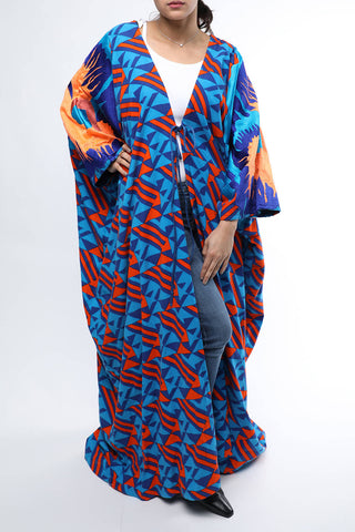 Colorful Bisht