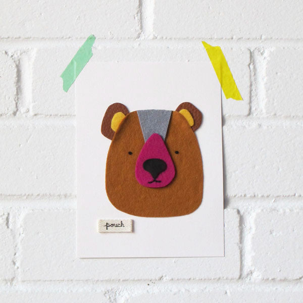 Bear Artwork - Small