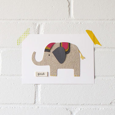 Elephant Artwork - Small