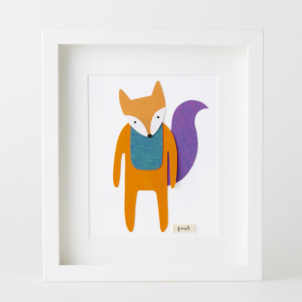 Fox Artwork - Medium