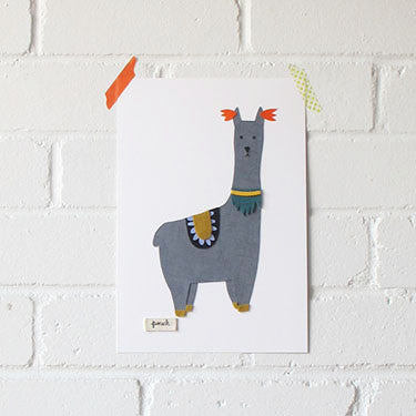 Llama Artwork - Medium